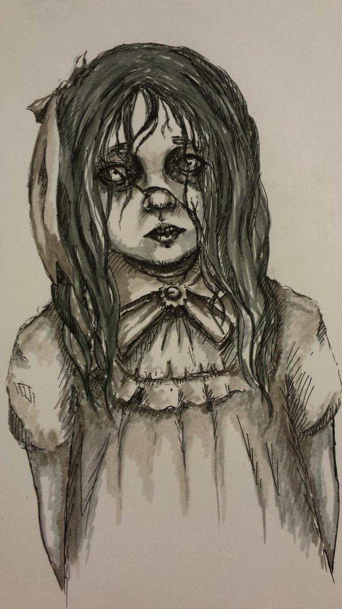 the angel doll by TiredMonkey