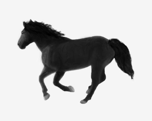 Horse Sketch by glmBr