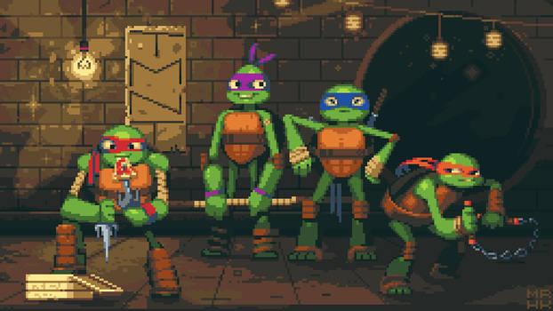Teenage Mutant Ninja Turtles : Pixel edition