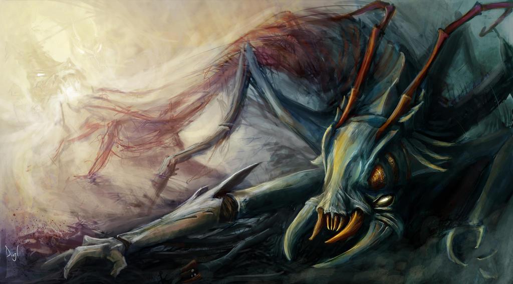 Feed the Swarm! by Digl