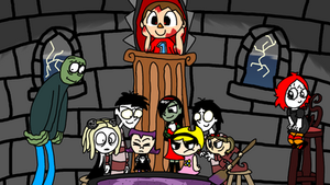 Fanart Month 5: Creepy Characters
