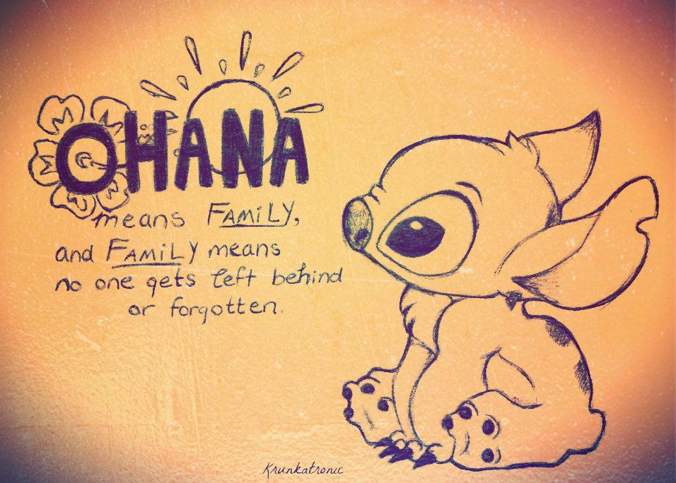 Drawings of Stitch Ohana Drawings of Stitch Ohana Ohana