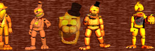 FNAF 2 Unwithered Halloween Pack