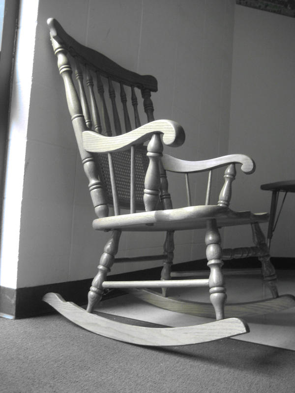 Old Rocking Chair in Gray by twilght-incantations on DeviantArt