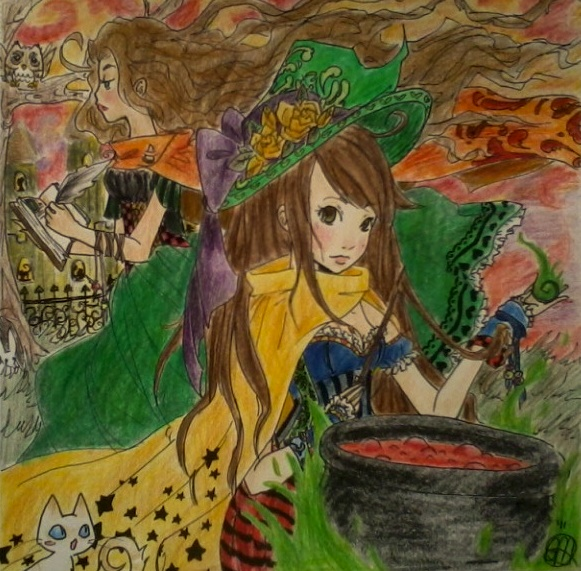 The Witches Potion by CloudNinja5 on DeviantArt