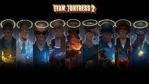 TeamFortress 2 Portrait Wallpaper