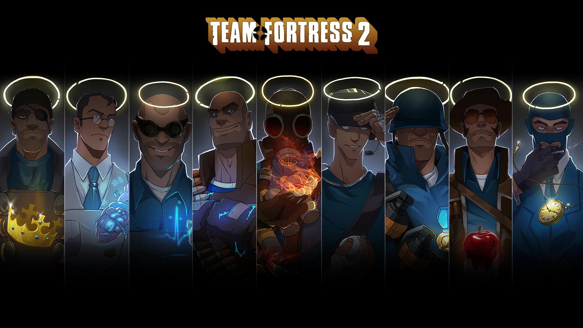 Teamfortress 2 Portrait Wallpaper By Marechal Ecto On Deviantart