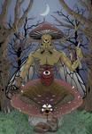 The Mushroom King by SimonMdrk