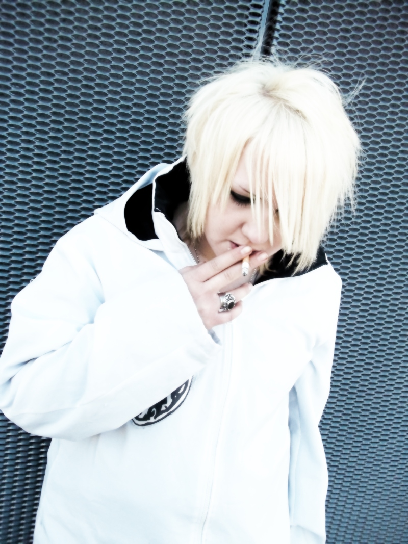 Ruki Black Moral Cosplay by kawaiimomochan2006