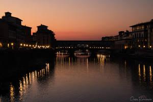 Florence sunset 3 by PinkVillain