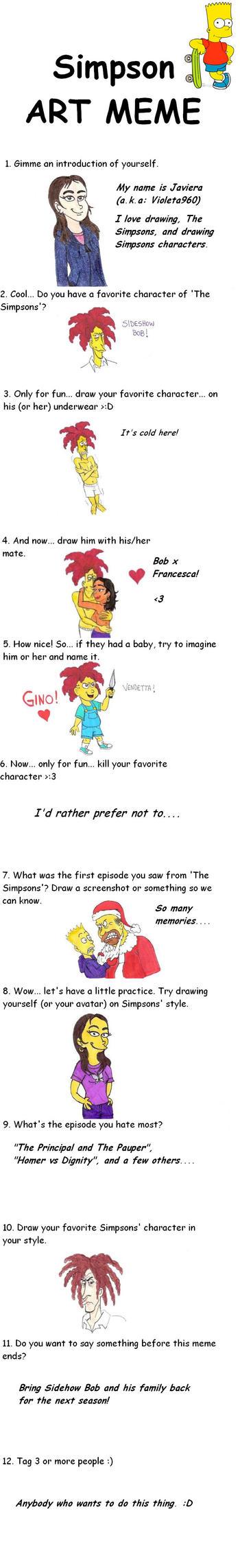 Simpsons Meme by Violeta960