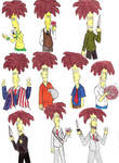 The many faces of Sideshow Bob