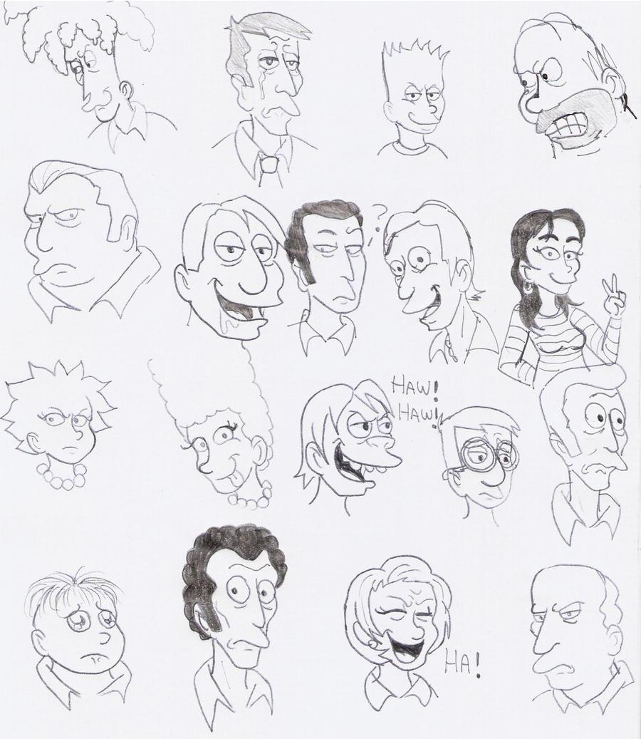 Simpsons  Tag Game by Violeta960