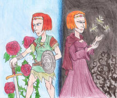 Rose and Briar by Violeta960