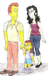 AT: Ruth and parents by Violeta960