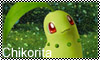 Chikorita Stamp by Mindsebbandflow