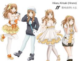 Hikaru reference (IDOLISH7) by Mindsebbandflow