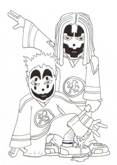 insane clown posse coloring pages - photo#12