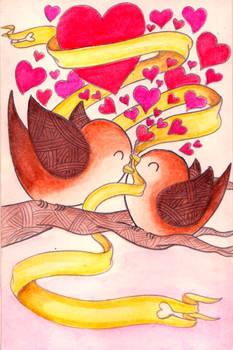 Valentine card commission #1