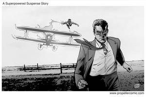 Hitchcock/Superhero Movies Mash-Up 3 by A-Muriel