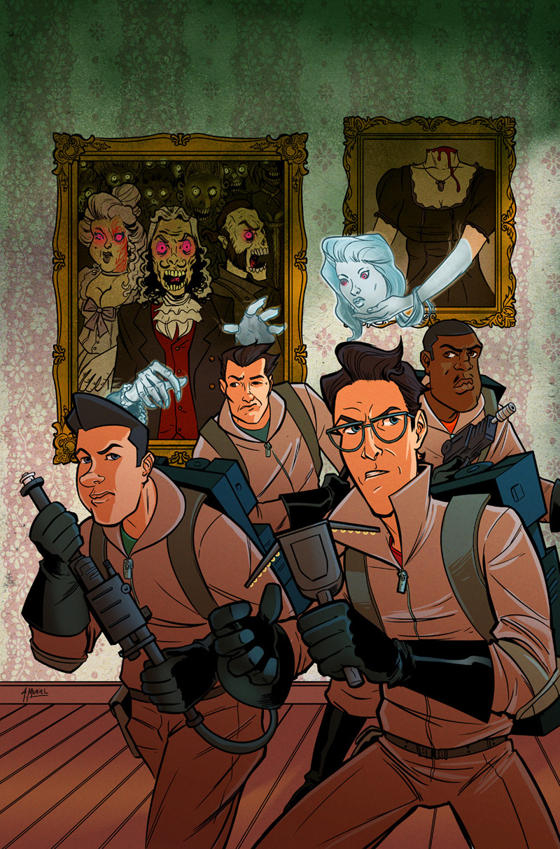 Ghostbuster alternative cover by A-Muriel