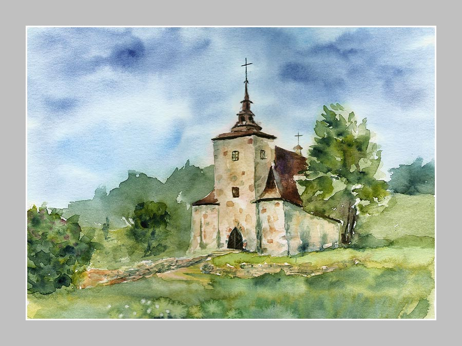 Church - Beskid Niski by stokrotas