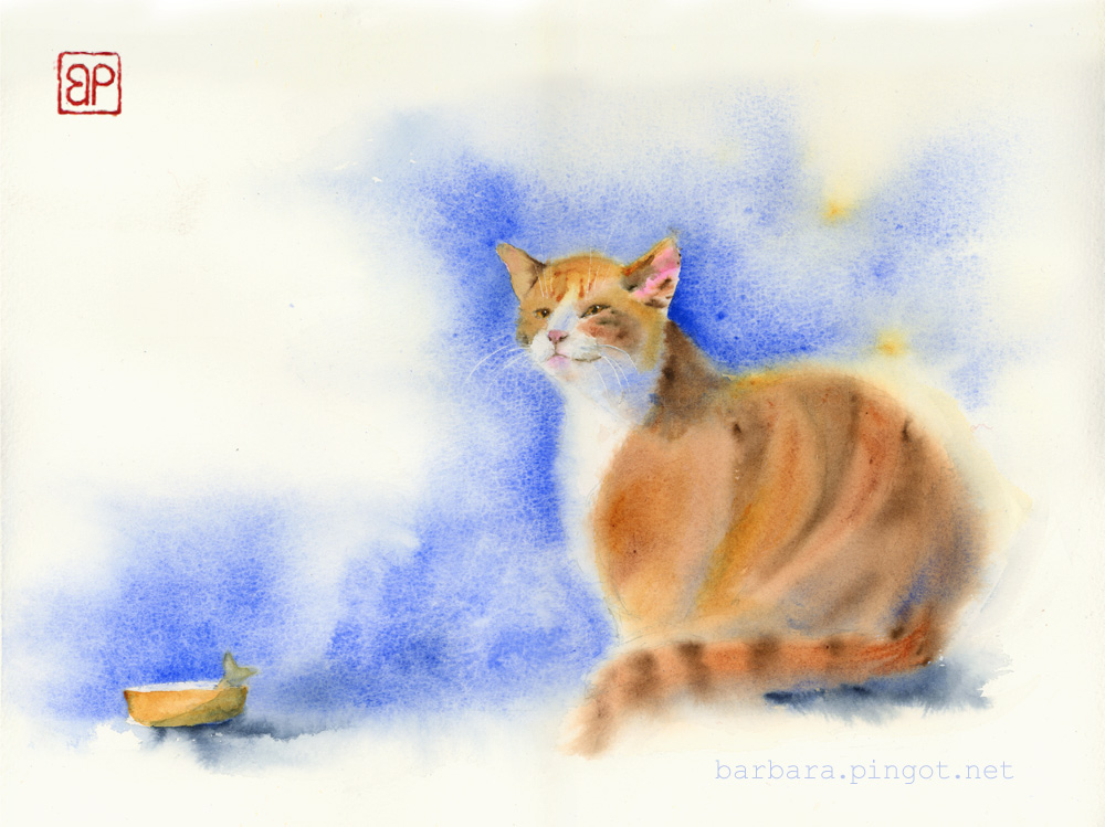 Kot pana Anatola/Mr. Anatol's cat by stokrotas