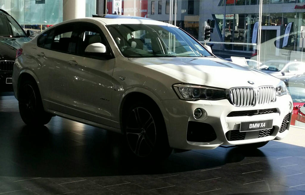 2017 BMW X4 White By TheCrewfan192