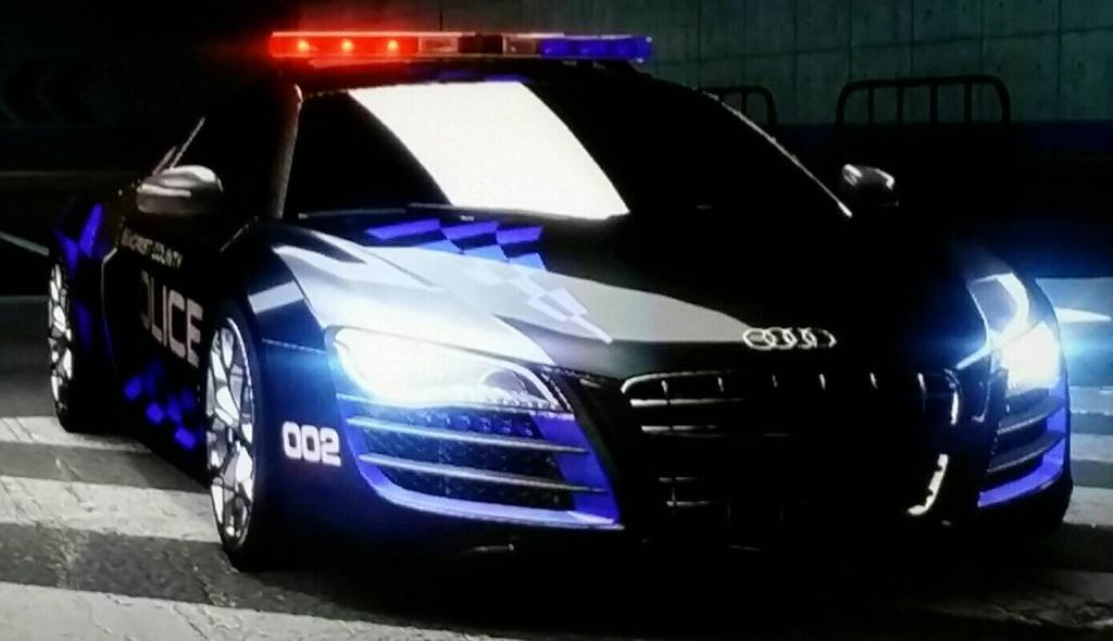 Audi R8 Coup 5 2 Fsi Quattro Police Car By Thecrewfan192 On Deviantart