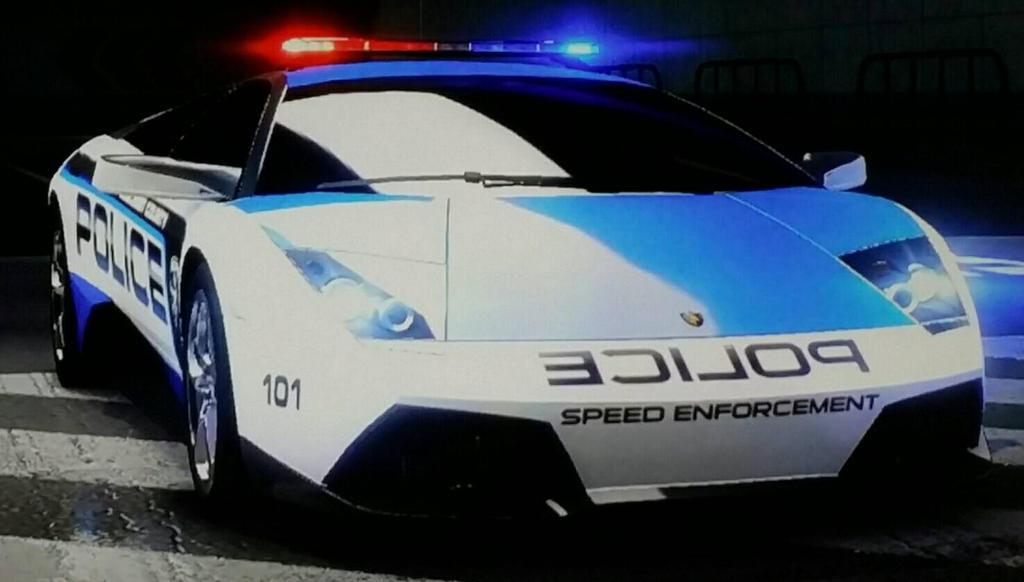 Lamborghini Murcielago Lp 640 Police Car By Thecrewfan192 On Deviantart