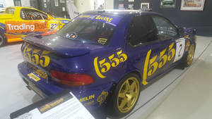 Subaru Impreza 22B STI Rally (Rear)