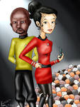 Dax and Sisko Finished by LOSHComixfan