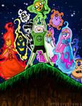 Blackest Night Adventure Time!!!