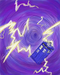 Doctor Who Time Vortex by LOSHComixfan
