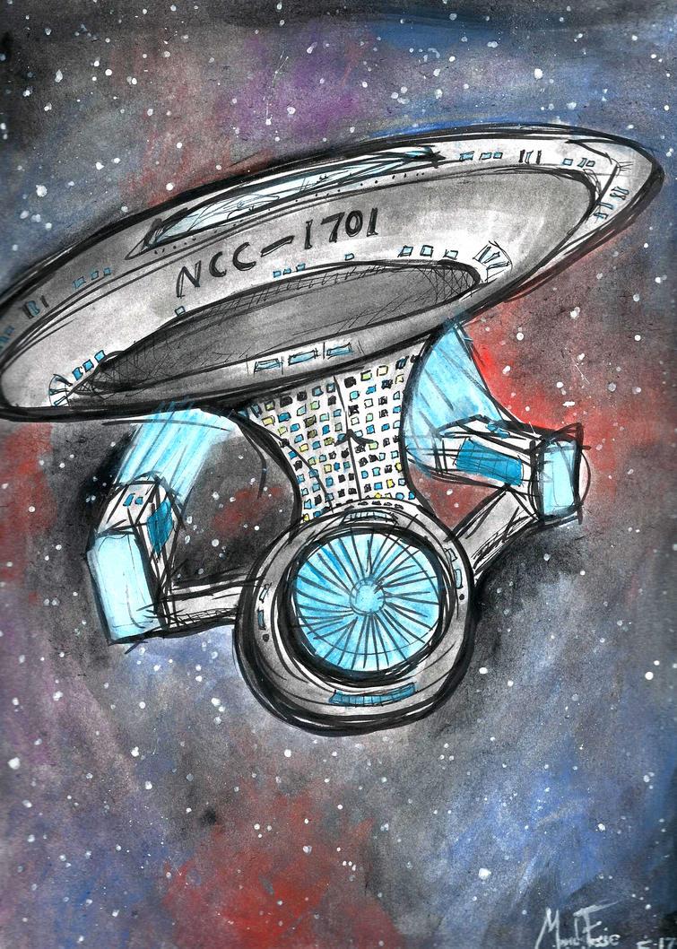 NCC-1701 by LOSHComixfan