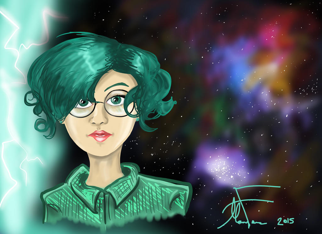 Teal Cosmos by LOSHComixfan