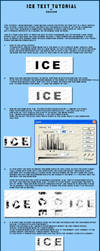 Ice text tutorial by oskkahr