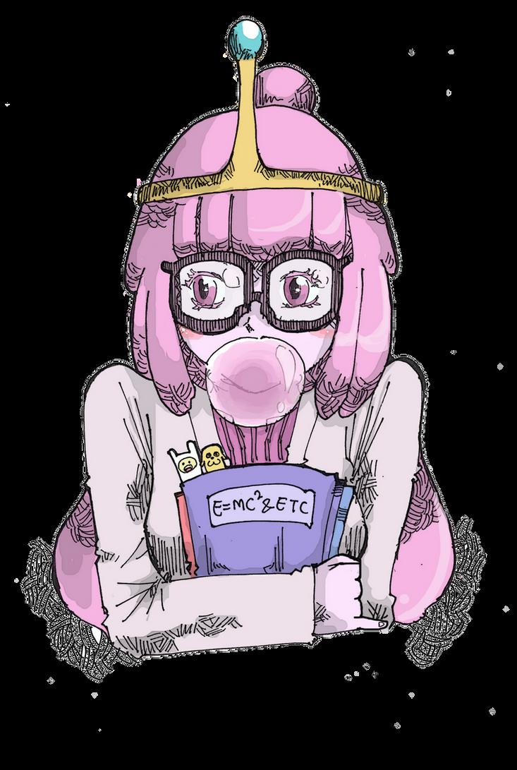 Princess Bubblegum by FoeFriend