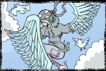 Shy Harpy Twitter Lady