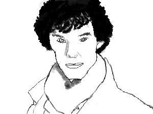 Sherlock :3 by cuddlykittens123