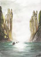 Argonath by jusza