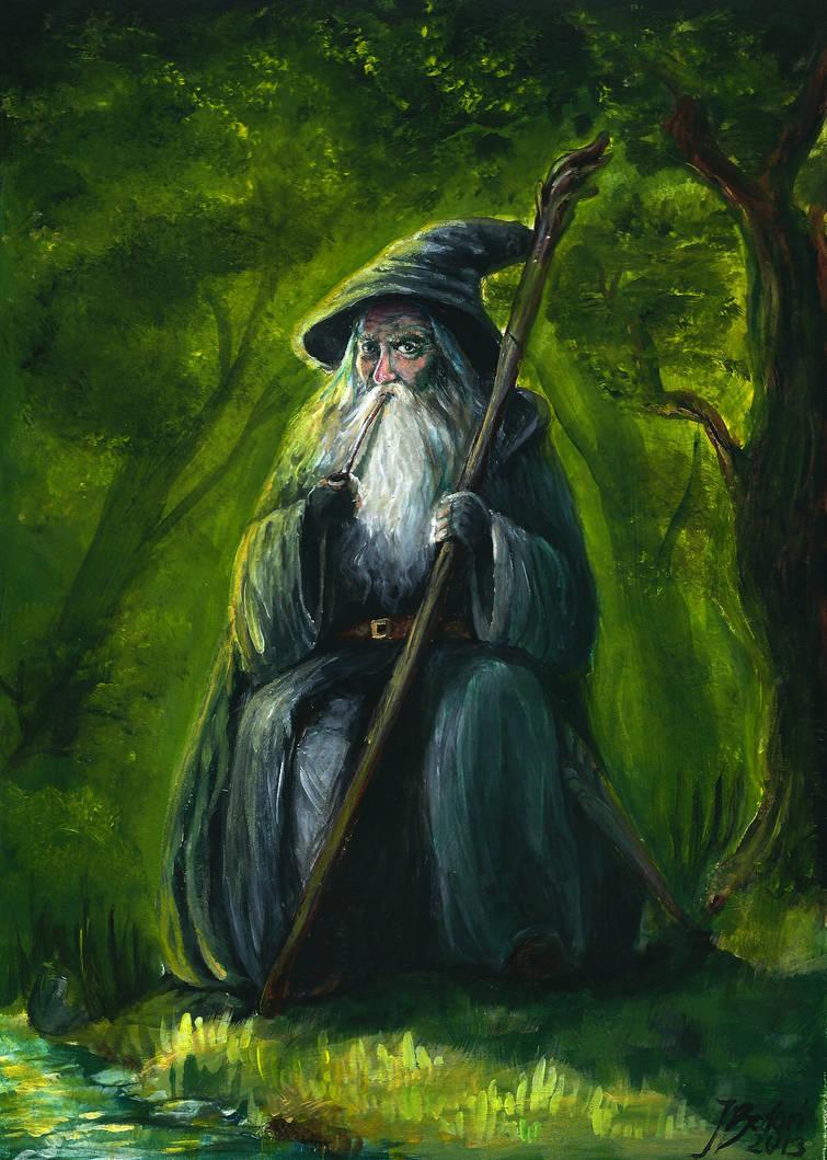 Gandalf by jusza