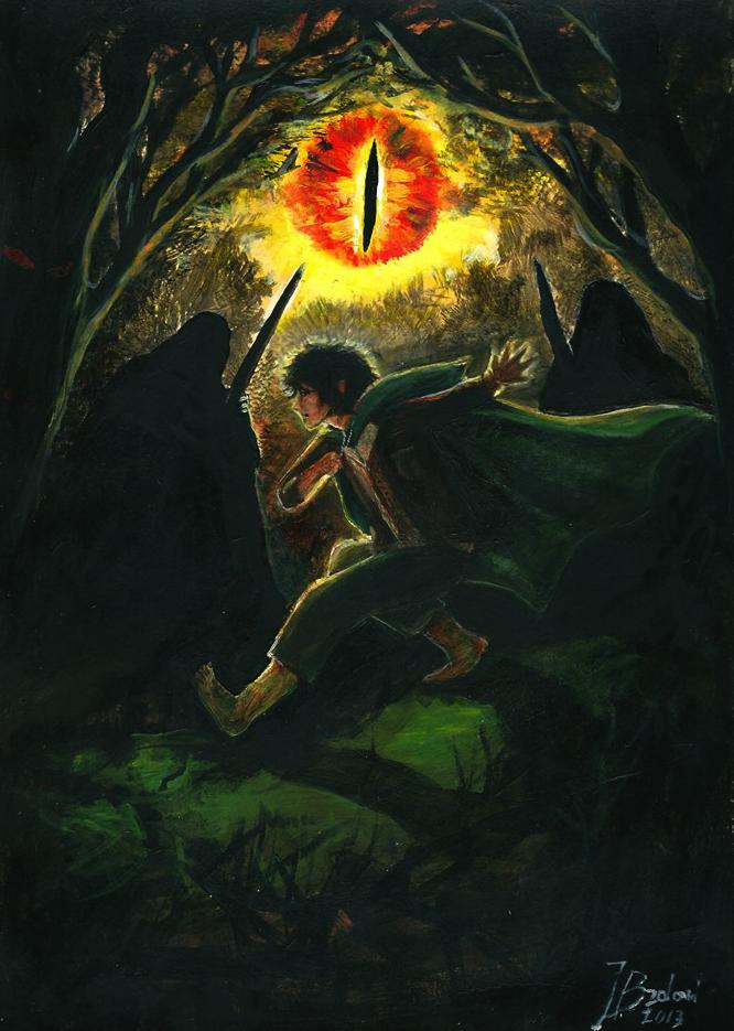 Run, Frodo! by jusza