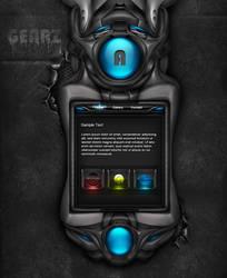 Gearz Interface wip by simonohm