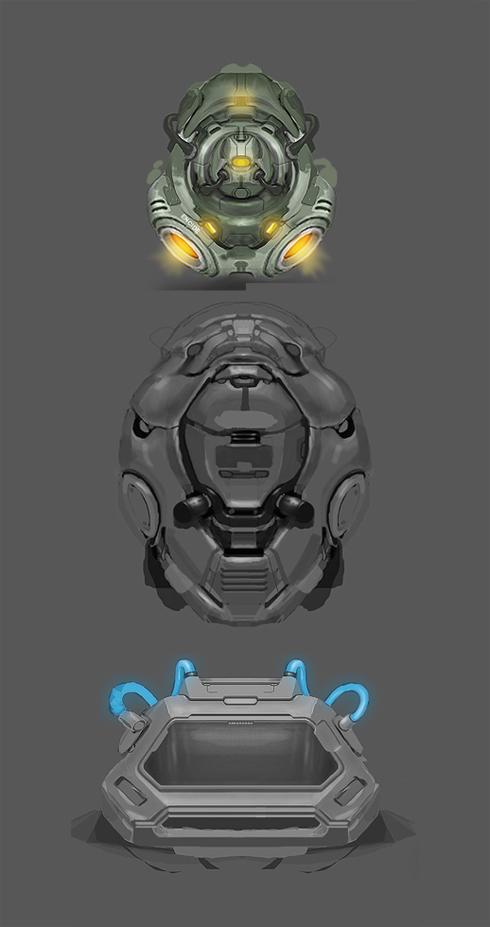 Some fantasy interface concepts by simonohm