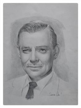 Clark Gable - Portrait