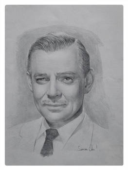 Clark Gable - Portrait