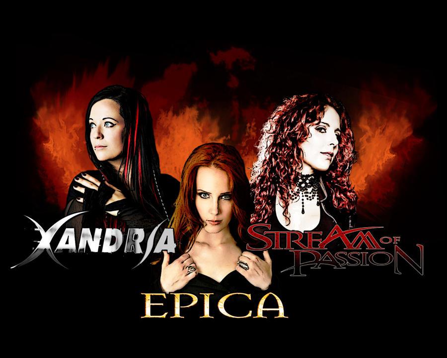 Epica, Xandria, Stream Of Passion