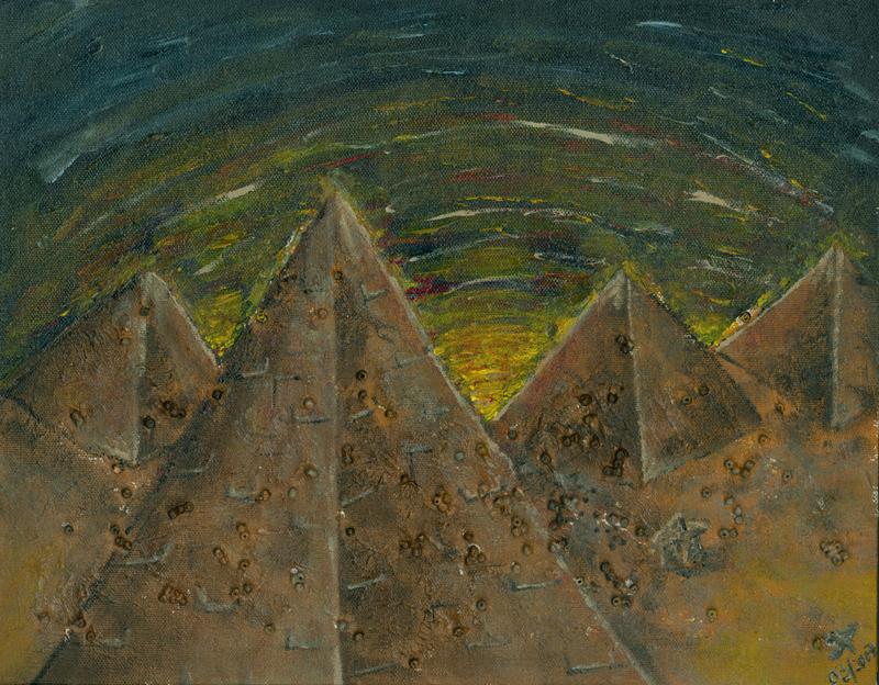 Egyptian Sunrise by QuackedDuckie