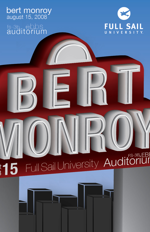 Bert Monroy by QuackedDuckie